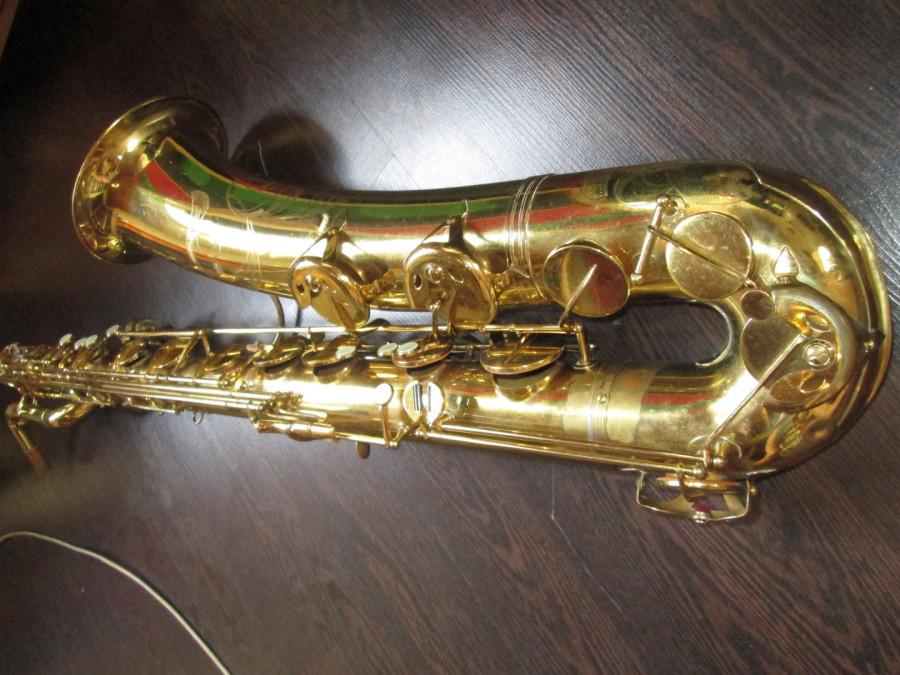 Bluespeter1 Saxophone Ladbergen - Saxophone in Arbeit